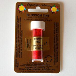 Colorante en polvo Rojo Amapola POPPYRED 7ml