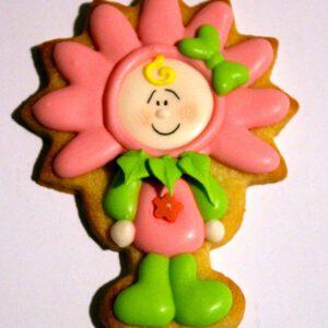 Cortador carnaval niño flor