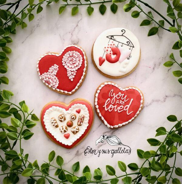 Paso a paso Corazones San Valentín
